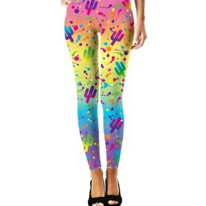 NEW🎀[rageOn]Lisa Frank girlie bright leggings